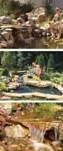 Diy Backyard Pond by Best 25 Outdoor Waterfalls Ideas On Pinterest Backyard Water