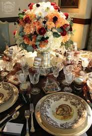 thanksgiving tablescapes with pottery barn