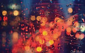 rain drop wallpaper mood color light hd desktop wallpapers