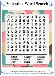 thanksgiving word search worksheets valentine word search printable puzzles