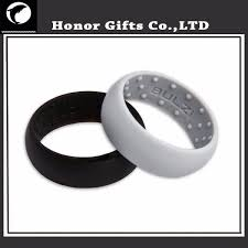 Rubber Wedding Rings by Medical Grade Logo Custom Silicone Rubber Finger Wedding Rings