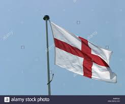 The England Flag The City Of Nottingham Raises The England Flag In Support Of The