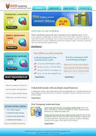 professional newsletter templates for web hosting companies