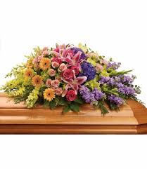 casket sprays garden of sweet memories casket spray by teleflora in sacramento