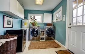 laundry storage why you should stick with cabinets above your