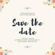 save the date designs save the date invitation customize 134 save the date invitation