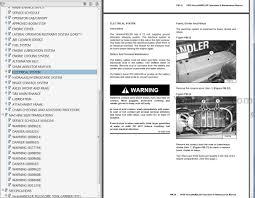 bobcat telescopic tool carrier operators and maintenance manuals