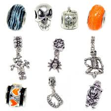 halloween jewelry amazon com pro jewelry 10 beads of halloween charms set for