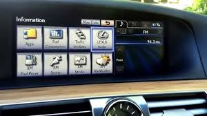 lexus gs 460 fuel consumption 2104 lexus ls 460 remote touch interface youtube