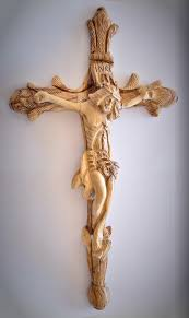 Best Cross - shop vintage crafted olive wood cross made and carved