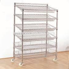 Commercial Wire Shelving by Slant Wire Shelving Source Quality Slant Wire Shelving From Global