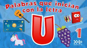 imagenes q inicien con la letra u palabras que inician con la letra u en español para niños videos