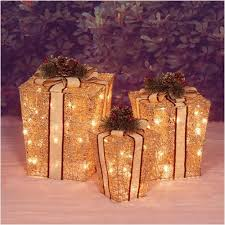 outdoor lighted gift boxes sylvania outdoor decor lighted gift boxes awesome christmas