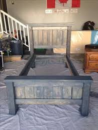 Build Wood Twin Bed Frame by How To Build A Twin Bed Frame Twin Beds Bed Frames And Twins
