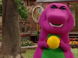 Barney Meme - angry barney blank template imgflip