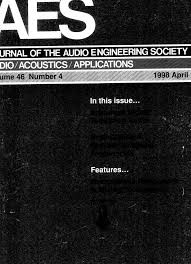 aes e library complete journal volume 46 issue 4