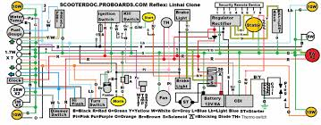 50cc scooter wiring diagram linkinx com