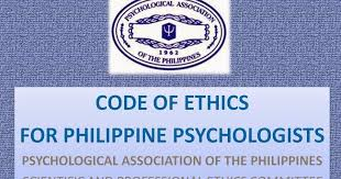 Counseling Code Of Ethics Philippines Philippine Psychometricians Licensure Reviewer Revisiting