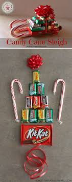 christmas candy gifts simple diy candy sleigh 12 wondrous diy candy sleigh