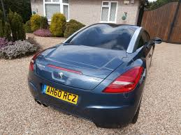 peugeot sport rcz used peugeot rcz coupe 1 6 thp sport 2dr in kings langley