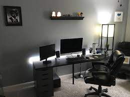 Home Office Setups by This Is My Man Cave Home Office Setup Album On Imgur