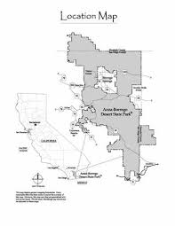 where is anza borrego aboriginal settlement in mine wash anza borrego desert state park