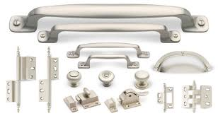 brushed nickel cabinet handles silver satin finish cliffside industries artisan suite cabinet