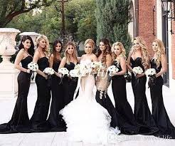 Unconventional Bridesmaid Dresses The 25 Best Black Bridesmaid Dresses Ideas On Pinterest Black