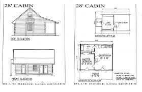 dazzling small cabin floor plan ideas using double wood framed