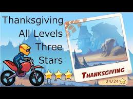 bike race thanksgiving 3 levels 1 8 normal bike