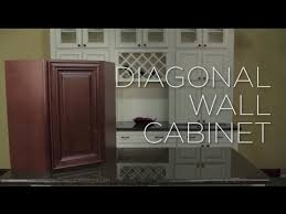 wall diagonal corner cabinet how to assemble a diagonal corner wall cabinet youtube