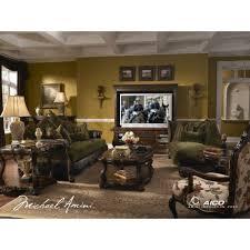 Livingroom Pc 6 767 00 Palace Gates Living Room Set By Michael Amini 3 Pc D2d