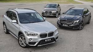 audi q3 vs gla driven 2015 6 f48 bmw x1 vs mercedes gla vs audi q3