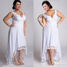 high to low wedding dress discount stunning plus size high low wedding dresses summer