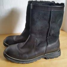 ugg womens grandle boots ugg australia leather slip on winter boots for ebay