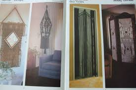 macrame for home decor patterns book jan 1976 alana ziemer mirror 15 00