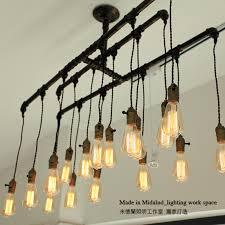 Vintage Light Bulb Pendant Vintage Iron Water Pipe Pendant Light Bulb Pendant Light