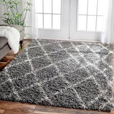 4x6 Shag Rug Inspired By Moroccan Berber Carpets This Trellis Shag Rug Adds