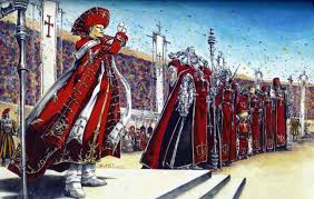 trinity blood cardinal francesco di medici and the most esteemed soldiers of god