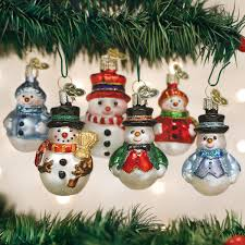 christmas tree decorations glass ornaments old world christmas