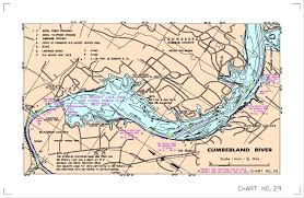 cumberland lake map localwaters hickory lake maps boat rs