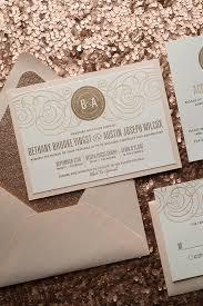 wedding invitation sle nancy suite fancy glitter package gold glitter chagne glitter