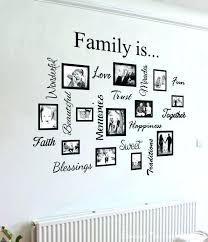 family frames wall decor family frames wall decor family