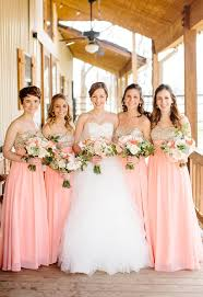gold bridesmaid dress pink and gold bridesmaid dresses archives southern weddings