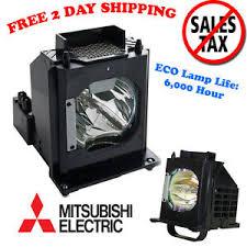 mitsubishi dlp bulb rear projection tv lamps ebay