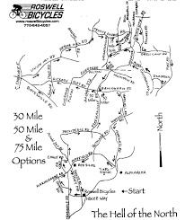 Northeast Georgia Map Georgia Road And Trail Maps