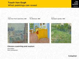 touch van gogh and be touched how new media are transforming the main menu of the app touch van gogh here one chooses a
