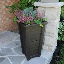 mayne self watering planters pots u0026 planters the home depot