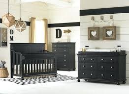 Black Baby Bed Black Nursery Furniture Sets Goodlifeclub Info