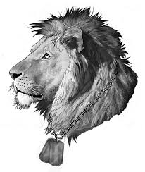lion tattoo design by rogueliger on deviantart